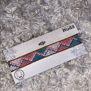 NWT Mudd Patterned Choker